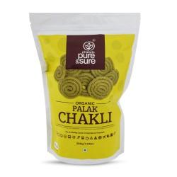 Organic Palak Chakli 200 gms