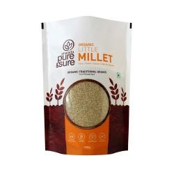 Organic Little Millet (Kutk, Kuri) 500 gms (Gluten