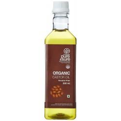 Organic Castor Oil Hexane Free 500 ml