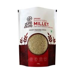 Organic Barnyard Millet (Sanwa, Jhangora) 500 gms