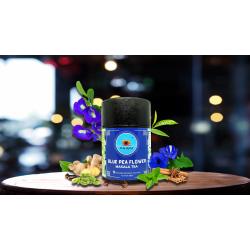 Blue Pea Flower Masala Tea 12 Pyramid Infusion Tea