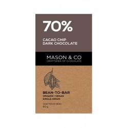 70% Cacao Chip Dark Chocolate 60 gms (Vegan)