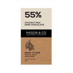 55% Coconut Milk Dark Chocolate 60 gms (Vegan)