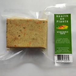 Carrot Ginger Spiced Tofu 200 gms (Vegan, Non GMO)