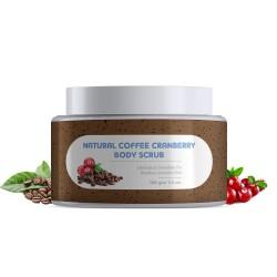 Natural Coffee Cranberry Body Scrub 100 gms
