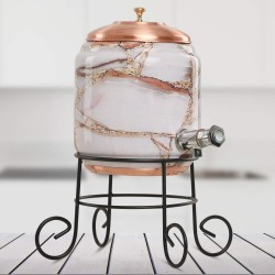 Copper Water Dispenser Set 5 litres Capacity