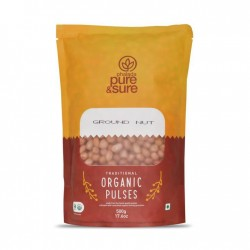 Organic Ground Nut (Peanut) 500 gms