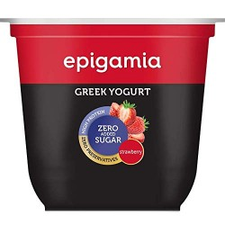 Greek Yogurt Strawberry No Added Sugar 120 gms