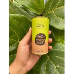 Cold Pressed Hemp Seed Oil 150 ml (Gluten-Free, Ve
