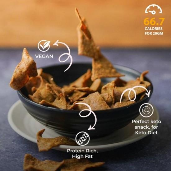 Keto Nachos 70 gms (Vegan)