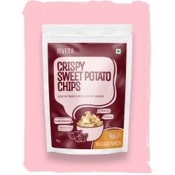 Crispy Sweet Potato Chips Masala Punch 55 gms (Glu