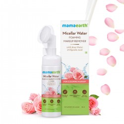 Micellar Water Foaming Makeup Remover with Rose Wa