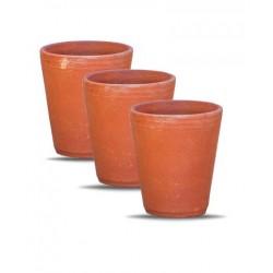 Handmade Clay (Mitti) Glass 1 Pcs