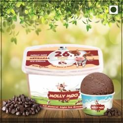 Chocolate Chip Ice Cream Tub (Vegan) 450 gms