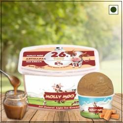 Salted Caramel Ice Cream Tub 450 gms