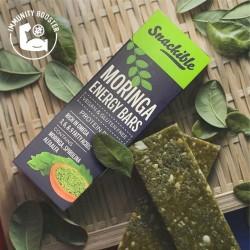 Moringa Energy Bars 40 gms (Gluten-Free, Vegan)