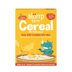 Cereal for Kids 200 gms (Ragi, Rice and Mango)