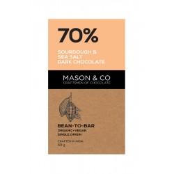 70% Sourdough and Sea Salt Dark Chocolate 60 gms (