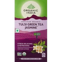 Organic Tulsi Green Tea Jasmine 25 Infusions Bags