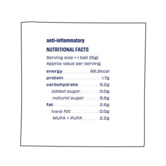 Anti Inflammatory Immunity Balls 225 gms (Gluten-Free, Vegan)