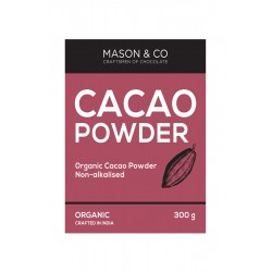 Organic Cacao Powder Non-Alkalised 300 gms