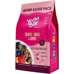 Wholegrain Breakfast Muesli, Fruits + Nuts & S