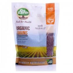 Organic Finger Millet (Ragi) Whole 500 gms