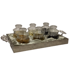 Dryfruit Gift Hamper Tray with 6 Jar