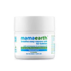 Natural Breathe Easy Vapour Rub Balm with Wintergr