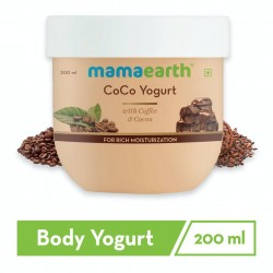 CoCo Body Yogurt with Coffee and Cocoa for Rich Mo