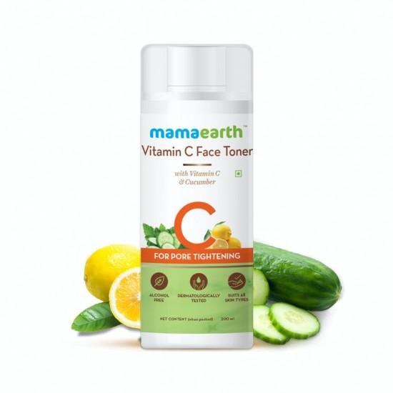 Vitamin C Face Toner with Vitamin C and Cucumber for Pore Tightening 200 ml
