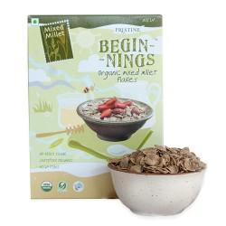 Organic Mixed Millet Flakes 150 gms (Gluten-Free)