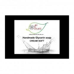 Handmade Cream Soft Glycerin Soap 100 gms