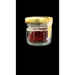 Mogra Saffron (Kesar) Glass Jar 2 gms