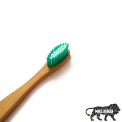 Bamboo Toothbrush Standard Green (Adult)