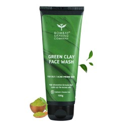 Green Clay Face Wash for Oily and Acne Prone Skin