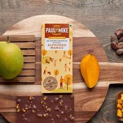 49% Fine Milk Chocolate Alphonso Mango 68 gms