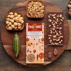 64% Mild Dark Chocolate Italian Piedmont Hazelnuts