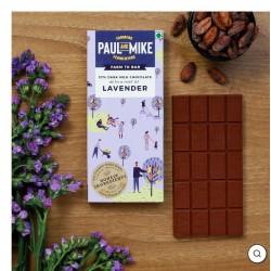57% Dark Milk Chocolate Lavender 68 gms