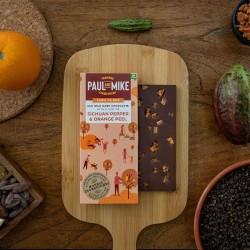 64% Mild Dark Chocolate Sichuan Pepper and Orange