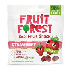 Real Fruit Gummy Strawberry Flavour 30 gms (Vegan)
