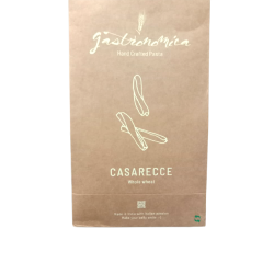 Natural Casarecce (Whole Wheat) Hand Crafted Pasta