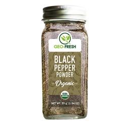 Organic Black Pepper Powder 55 gms