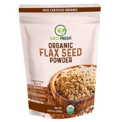 Organic Flax Seed Powder 250 gms (Gluten-Free, Veg