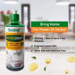 Naturedrop Herbal Liquid Dish Wash 250 ml