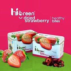 Dried Strawberry Healthy Bites 80 gms (Gluten-Free