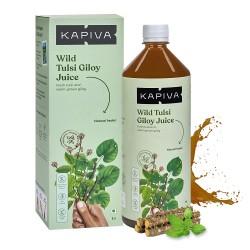 Wild Tulsi Giloy Juice 1 litres (Gluten-Free, Vega
