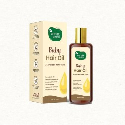 Ayurvedic Baby Hair Oil with 21 Herbs and Oils for