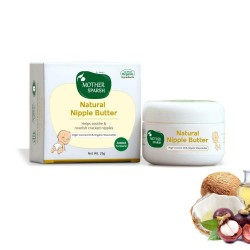 Natural Nipple Butter with Virgin Coconut Oil and
