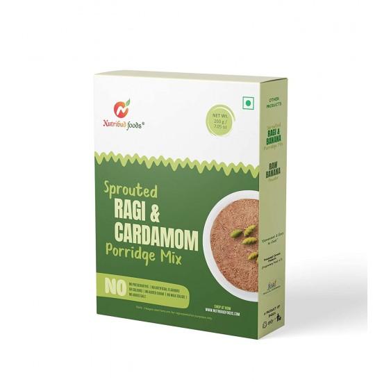 Sprouted Ragi and Cardamom Porridge Mix 200 gms